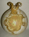Crown Milano Vase with Cherub